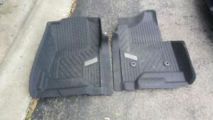 Selling 2 front all weather mats forchevrolet silverado 2014-16