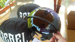 Rebel Motorcycle Helmets Brand New