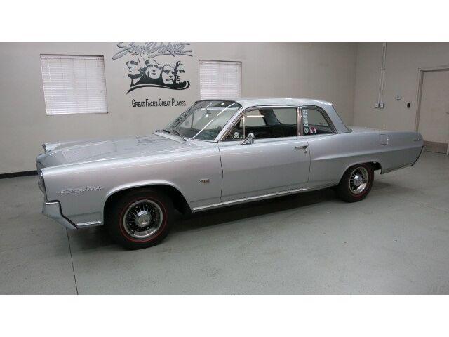 "1964 Pontiac Catalina 2 Dr. Hardtop 421 C.I. ""Tri Power"" 4 Spd. ""Silvermist Gray"
