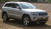 2014 Jeep Grand Cherokee WK MY2014 Limited Silver 8 Speed Sports Automatic Wagon Winnellie Darwin City Preview
