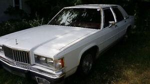 1986 Mercury Grand Marquis Sedan