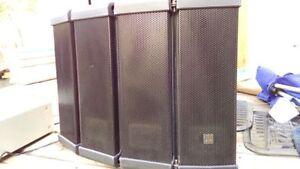 TOA PA Speakers HX5B - PAIR