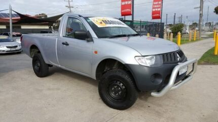 2009 Mitsubishi Triton ML MY09 GL 5 Speed Manual Cab Chassis
