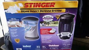 2pc Stinger home insect defense systems 1 indoor and 1 outdoor