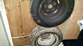ford transit 15 inch wheels and tyers