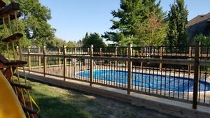 Barrier Fence and Deck