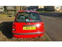 1993 Nissan Micra 1.3. 9 months MOT. Excellent first car.