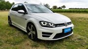 2014 Volkswagen Golf VII MY15 R DSG 4MOTION Pure White 6 Speed Sports Automatic Dual Clutch Tanunda Barossa Area Preview