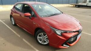 2019 Toyota Corolla ZWE211R SX E-CVT Hybrid Volcanic Red 10 Speed Constant Variable Hatchback Hybrid Bassendean Bassendean Area Preview