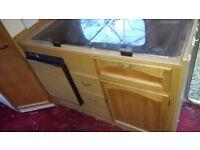 Caravan kitchen unit