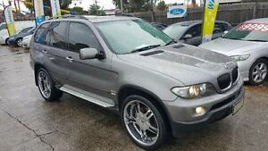 2005 BMW X5 E53 3.0D Grey 6 Speed Automatic Wagon Maidstone Maribyrnong Area Preview