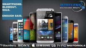 Holiday Smartphone Sale Liquidation - Lowest Prices Ever