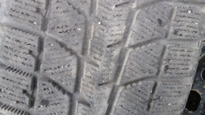 225/65 R 16 WINTER TIRES WITH HONDA CRV RIMS Prince George British Columbia image 3