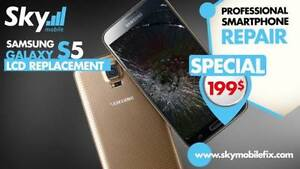 Réparation -Repair Samsung Galaxy S4 / S5 / S6 S7 E  Note 3 4 5