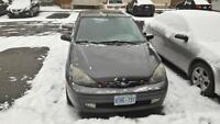 2004 Ford Focus ZX5 Hatchback w mounted summer and winter tires