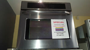 ASSEMBLY  APPLIANCES WALL OVEN SALE - SINGLE AND DOUBLE