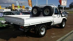 1995 Toyota Landcruiser HZJ75RP (4x4) White 5 Speed Manual Cab Chassis Victoria Park Victoria Park Area Preview