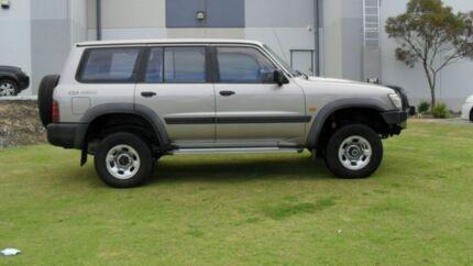1998 Nissan Patrol GU ST Gold 5 Speed Manual Wagon Silver Sands Mandurah Area Preview