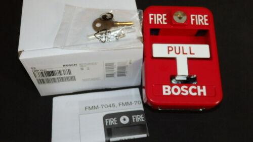 BOSCH FMM-7045 MULTIPLEX ADDRESSABLE MANUAL PULL STATION  NEW  Last one