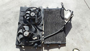 MK4 Jetta Golf VW Volkswagen AC Condenser and Fans Kitchener / Waterloo Kitchener Area image 1