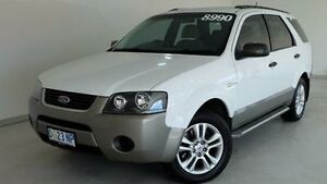 2006 Ford Territory SY TX White 4 Speed Sports Automatic Wagon Hobart CBD Hobart City Preview