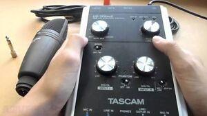USB 2.0 Computer Audio Interface + Tascam TM-78 microphone   Hi