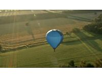 Hot air balloon flight over Yorkshire for 2 passengers