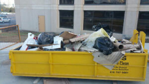 > 20 YARD BINS FOR CONSTRUCTION WASTE OR HOME JUNK PLS CALL !!