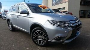 2017 Mitsubishi Outlander ZK MY17 Exceed 4WD Cool Silver 6 Speed Sports Automatic Wagon Liverpool Liverpool Area Preview