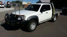 2008 Mazda BT-50 B3000 Freestyle DX+ (4x4) White 5 Speed Manual Cab Chassis Georgetown Newcastle Area Preview