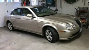 Excellent condition 2003 S type Jaguar with low mileage