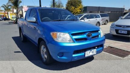 2005 Toyota Hilux GGN15R MY05 SR Xtra Cab 4x2 Blue 5 Speed Automatic Utility Cheltenham Kingston Area Preview