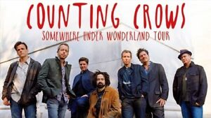 Counting Crows w/guest Live Aug 29 CHEAPEST BELOWCOST Row1