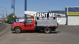 All Types of Bucket truck service from your local sign service