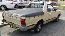 1985 Subaru Brumby (4x4) Beige 4 Speed Manual Utility Victoria Park Victoria Park Area Preview