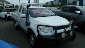 2012 Holden Colorado RG MY13 LX White 5 Speed Manual Cab Chassis North Lakes Pine Rivers Area Preview