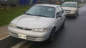 GREAT SHAPE - 1999 Toyota Corolla VE, Automatic 4Dr / Cold A/C