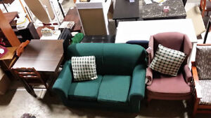 New/used furniture, sofa, firm top mattress and dining sets London Ontario image 4