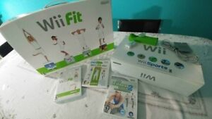Nintendo Wii + Fit + Games and Accessories
