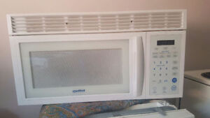 Moffat white over the range microwave for sale