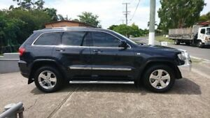 2012 Jeep Grand Cherokee WK MY2013 Laredo Max Steel/Cloth 5 Speed Sports Automatic Wagon