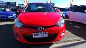 2012 Hyundai i20 PB Active Red Automatic Hatchback Mount Druitt Blacktown Area Preview