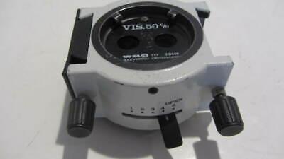 Leica Wild Heerbrugg Surgical Microscope 50 Beam Splitter