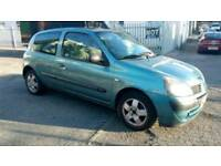 Renault clio 1.2 petrol long mot Cheap to run and insurance cheapest price