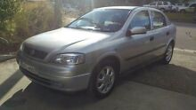 2001 Holden Astra TS City Silver 5 Speed Manual Hatchback Macquarie Hills Lake Macquarie Area Preview