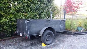 Custom built utility trailer