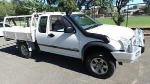 2006 Holden Rodeo RA MY06 Upgrade DX (4x4) White 5 Speed Manual Cab Chassis Granville Parramatta Area Preview