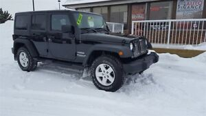 2014 Jeep Wrangler Unlimited UNLIMITED SPORT WITH POWER PACKAGE