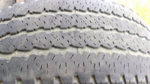 2 good All season truck tires Firestone LT285/60R20 $80 for both