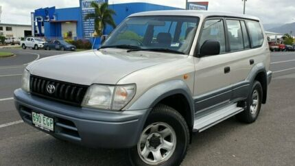 1997 Toyota Landcruiser Prado VZJ95R GXL White 4 Speed Automatic Wagon Bungalow Cairns City Preview